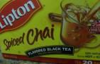 Chá aromatizado com especiarias