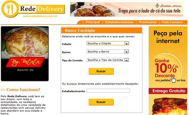 Ajuda a escolher um restaurante pra entregar a comida