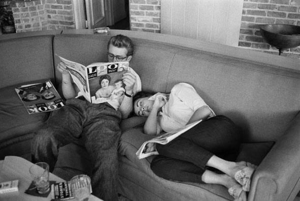 James Dean & Liz Taylor