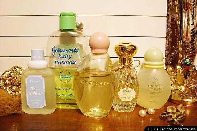 Perfumes com cheirinho de bebê