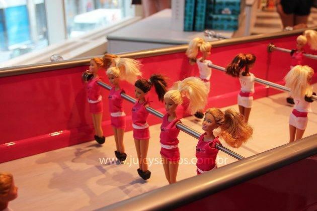 Barbie Foosball Table, o pebolim da Barbie
