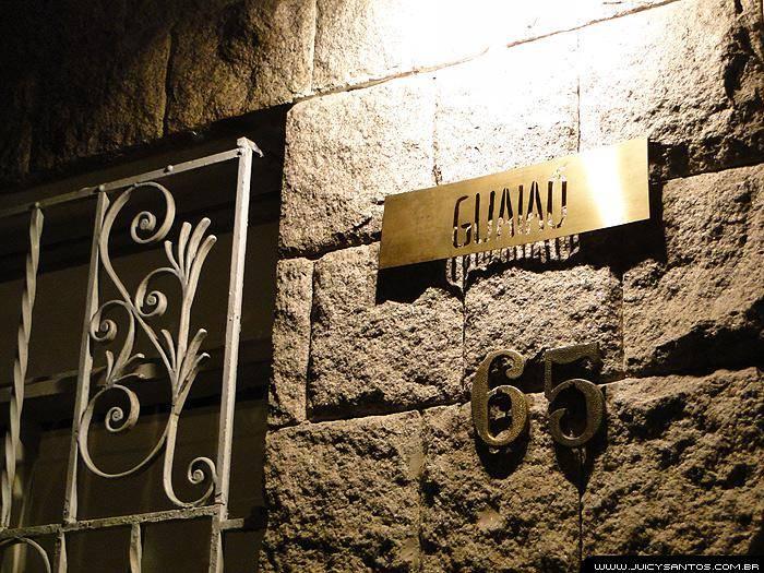 Restaurante Guaiaó, entrada