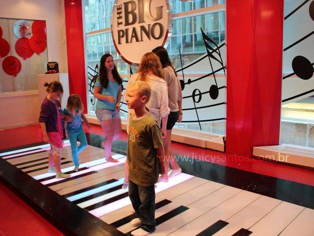 O piano de BIG, quero ser grande