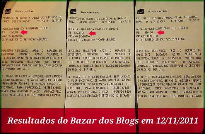 Bazar dos Blogs - Depósito