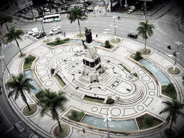 Exposição de fotos em comemoração aos 466 anos de Santos