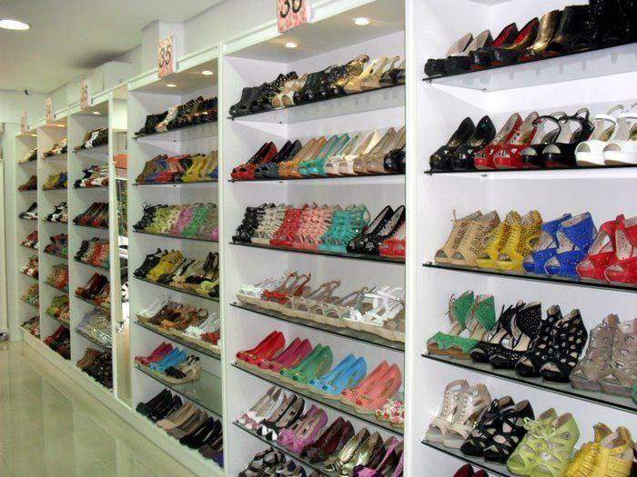 Glamour Pink: paraíso das sapatilhas em Santos