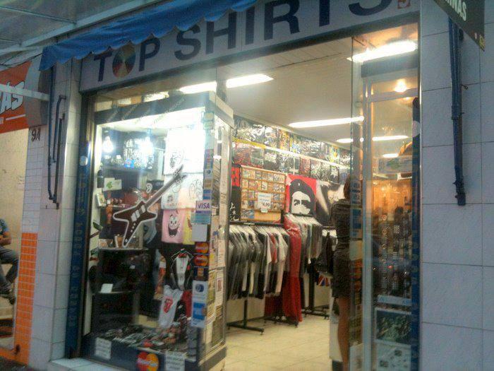 Camiseta de memes em Santos top shirts tia do rock