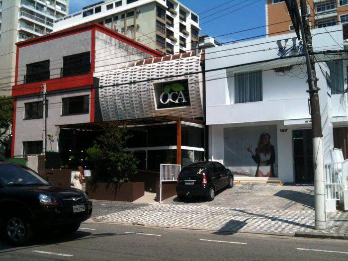 restaurante oca no gonzaga santos sp