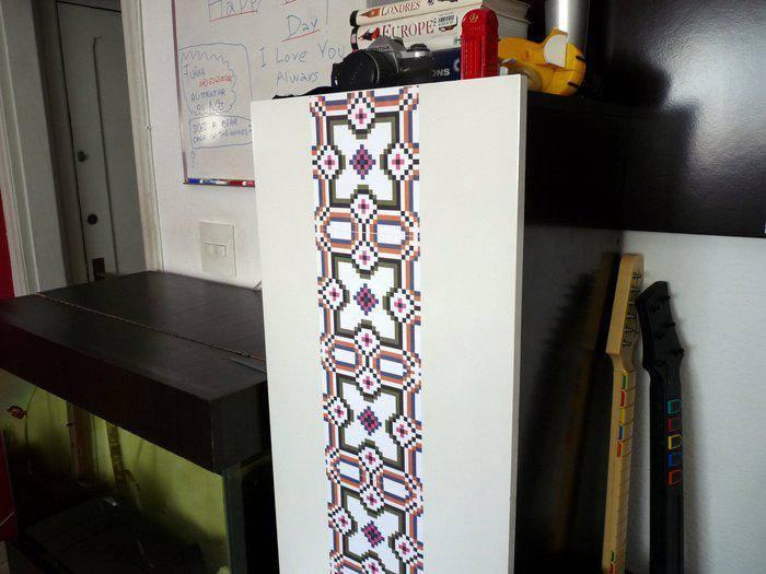 adesivo de tecido flok