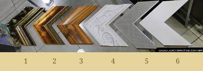 Exemplos de molduras