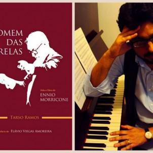 Músico santista lança livro sobre Ennio Morricone