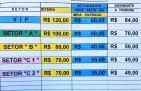 The Platters show preço