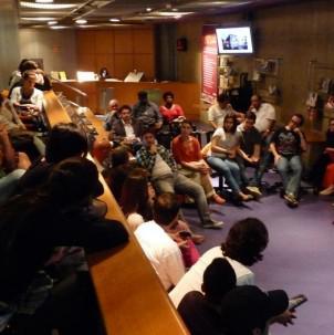 Roda de conversa com a Casa da Cultura Digital Santos