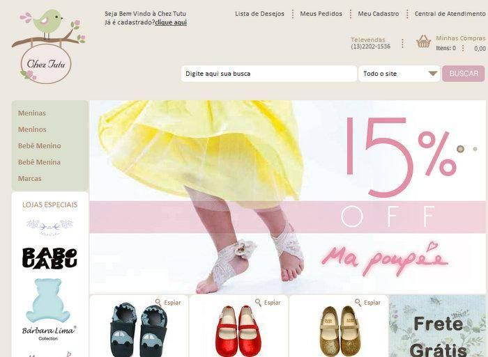 48d116315 Chez Tutu: roupas de bebês e crianças para comprar online
