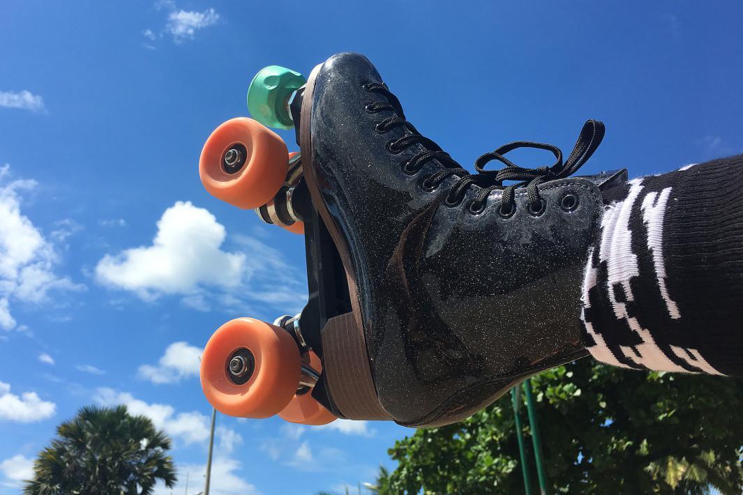 Imagem de patins no Emissário