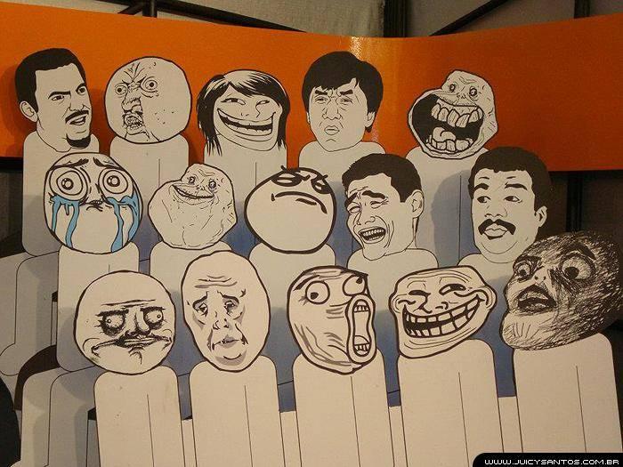 Meme faces no You Pix 2012