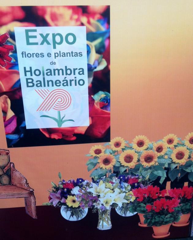 expo flores e plantas shopping balneário