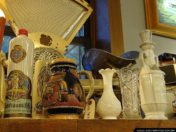 Peças de decoração vintage