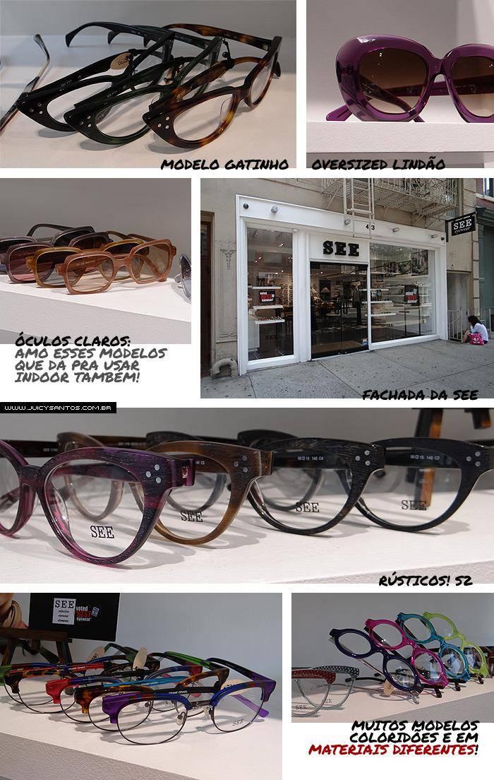 See Sunglasses: ótica sensacional em Nova York