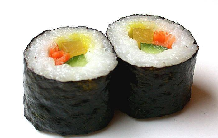 Mais uma turma do curso de sushi em Santos