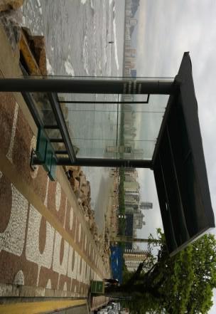 ponto de ônibus em Santos