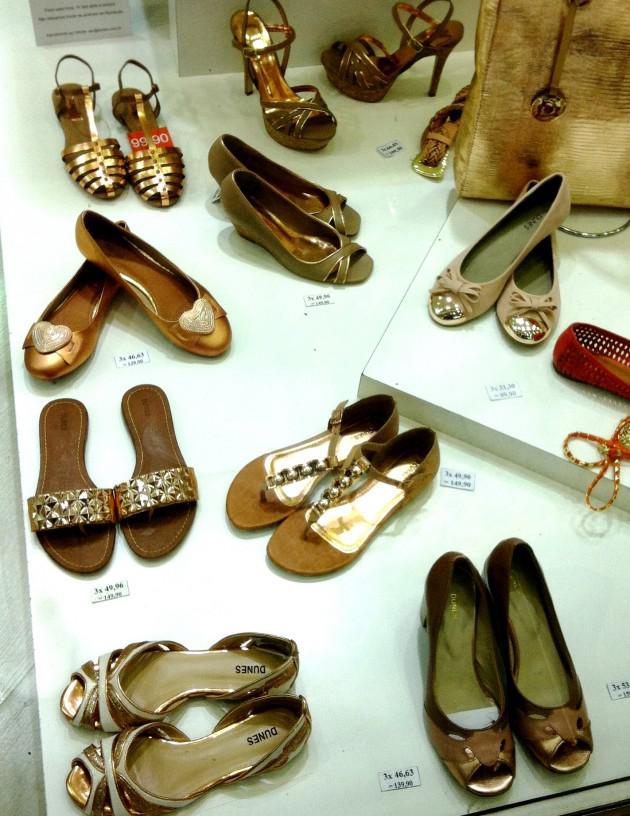 sapatos cobre dunes