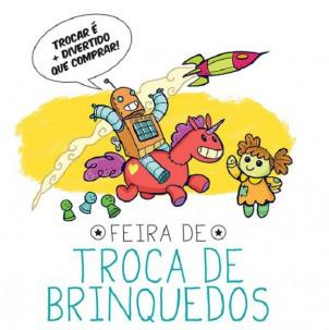 Feira de troca de brinquedos em Santos