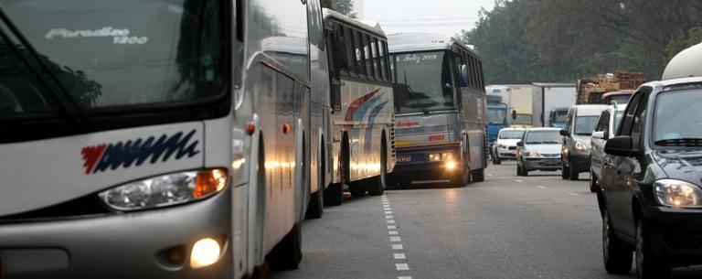 ônibus fretado santos sp
