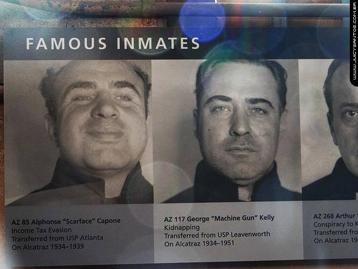 Detentos de Alcatraz
