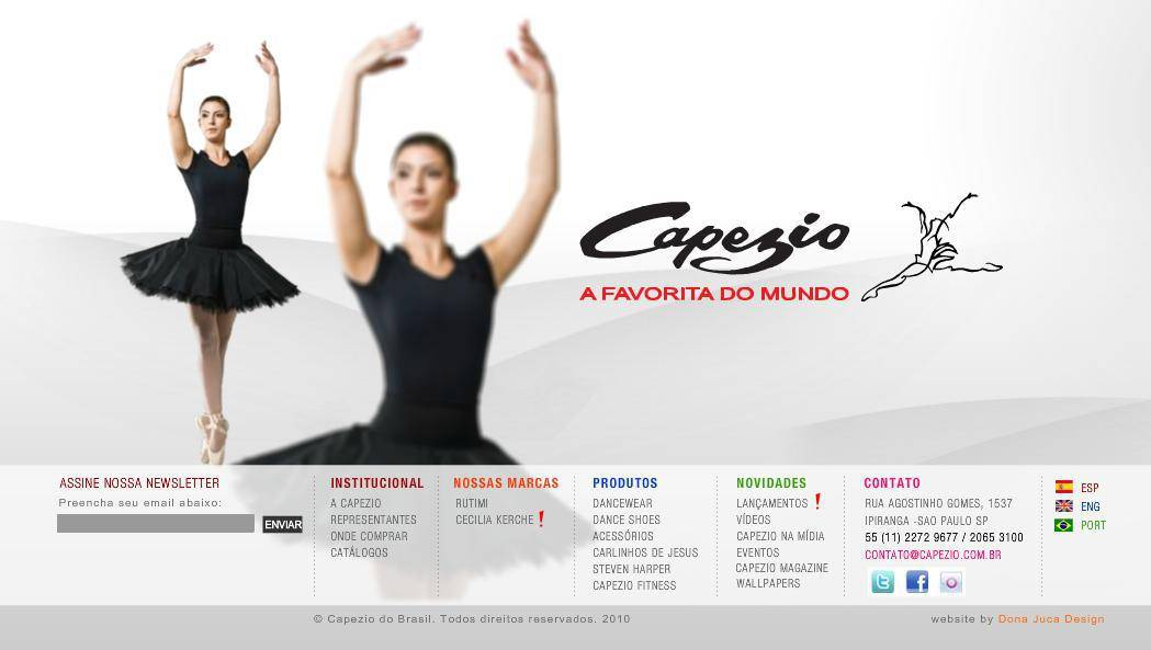 30b10d6e8b Onde comprar roupas de ballet em Santos