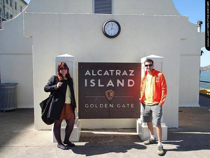 Chegada em Alcatraz