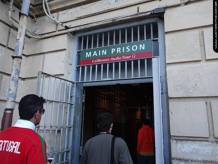 Entrada da prisão de Alcatraz