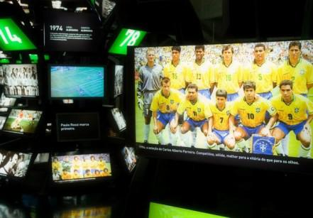 Domingos grátis no Museu do Futebol