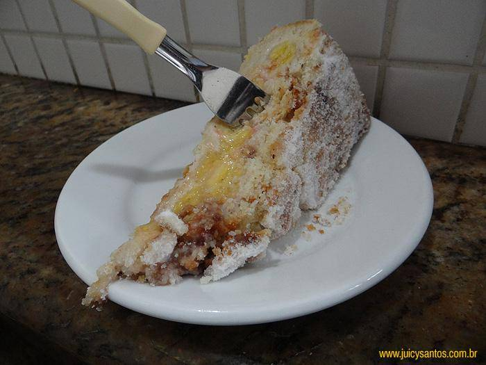 A torta de banana do Sevilha