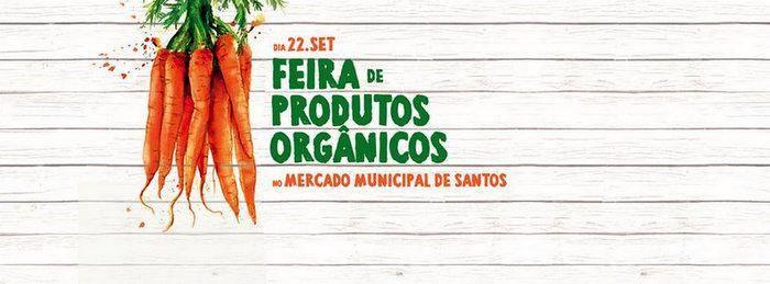 feira de produtos orgânicos em santos