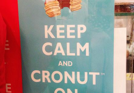 Cartaz Dominique Ansel Bakery - Keep calm and Cronut on