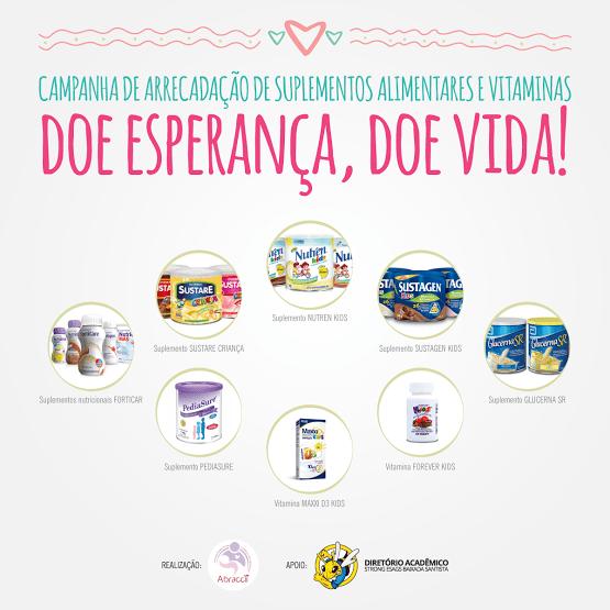 www.juicysantos.com.br - vitaminas para crianças com câncer