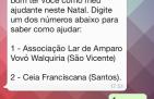 www.juicysantos.com.br - contato papai noel