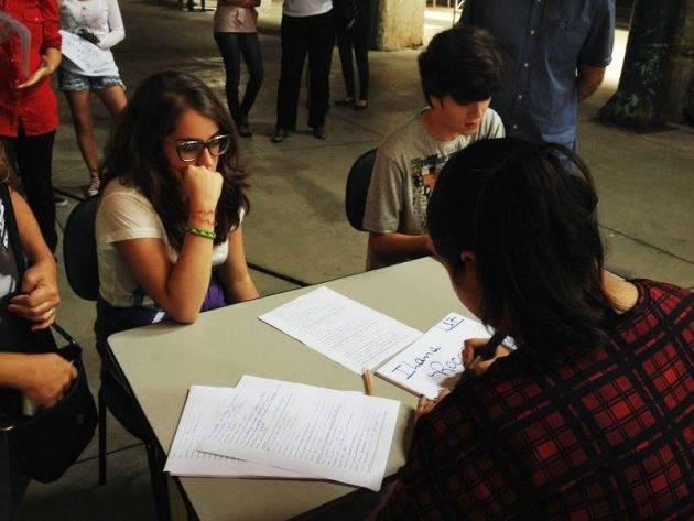 Teste Elenco realizado em 2014