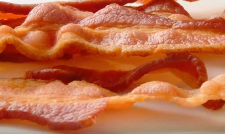 bacon-de-microondas
