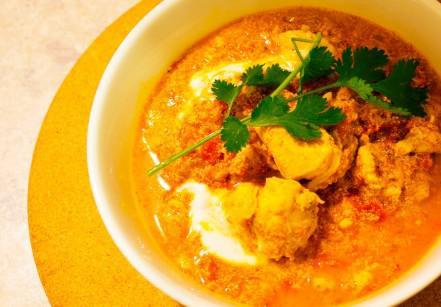 www.juicysantos.com.br - receita de frango com curry e iogurte