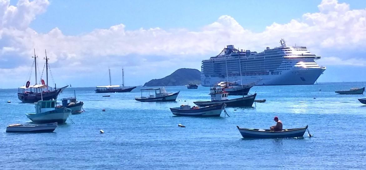 Hotel de Santos tem estacionamento cortesia para viajantes de navio