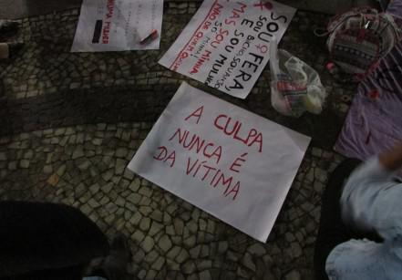 manifesto contra a cultura do estupro em santos sp