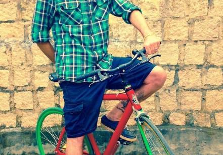 Luca Bergometti veio de Milão para  produzir bikes em Joinville