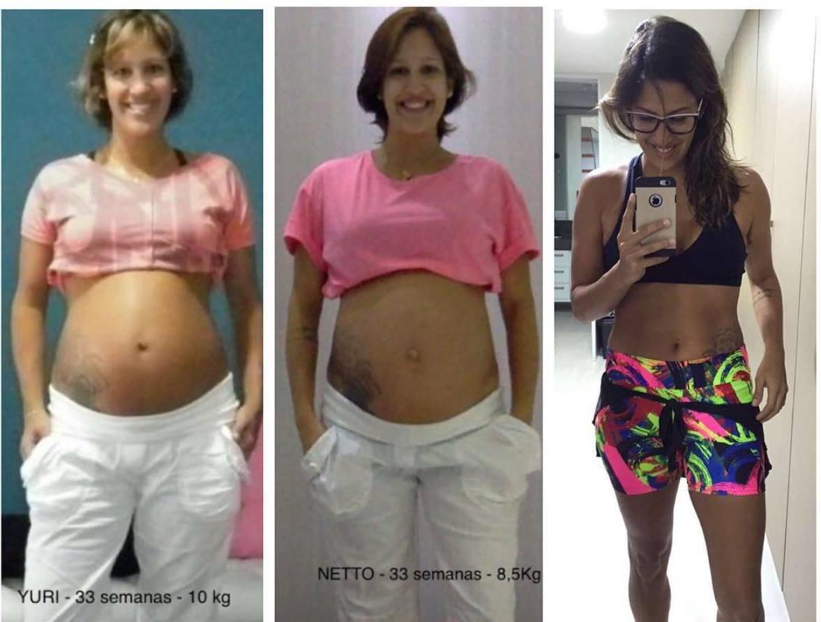 www.juicysantos.com.br - antes e depois da gravidez