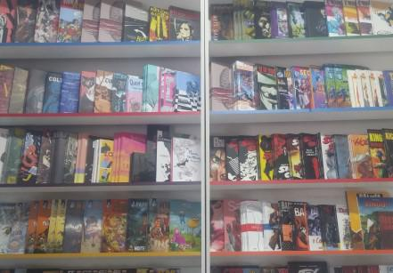 comic store em santos