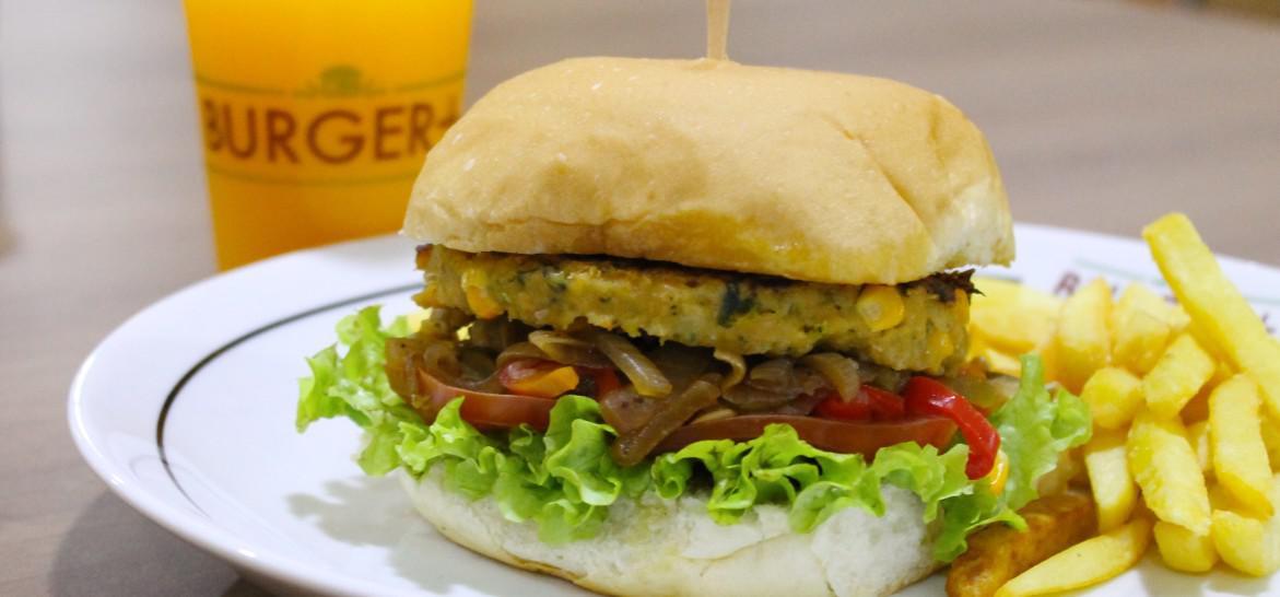 Onde comer hambúrguer vegetariano em Santos
