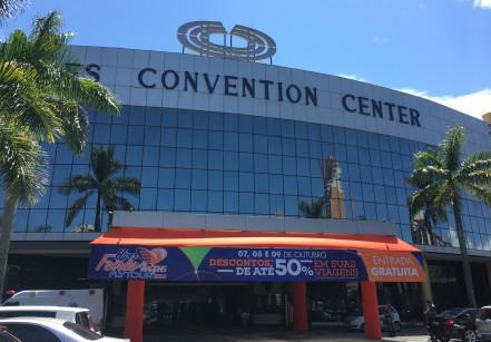 Mendes Convention Center, em Santos, recebe o Hiper Feirão de Viagens da Flytour