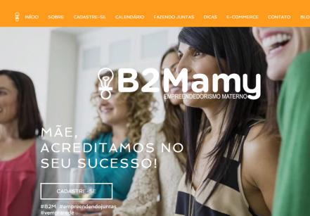 www.jucysantos.com.br - plataforma para mães empreendedoras