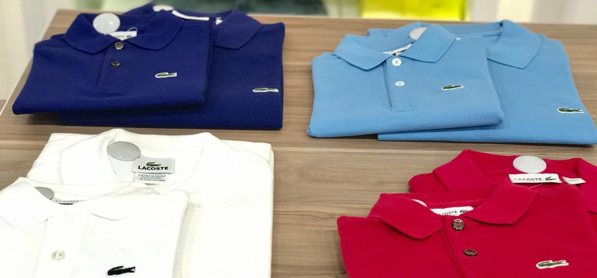www.juicysantos.com.br - camisas polo pai e filho lacoste